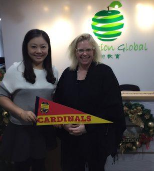 美国顶级私校费尔法克斯学校校长和招生官应邀访问伊甸教育北京办
